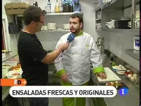 Restaurante Remigio En España Directo Mil Y Una Ensaladas Las Recetas Rtve Es Chef Jackets
