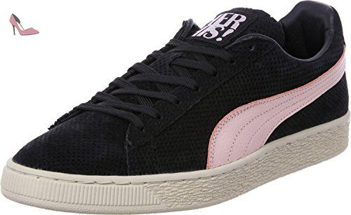 Puma Suede Valentine His and Hers Calzado 6,5 black/birch