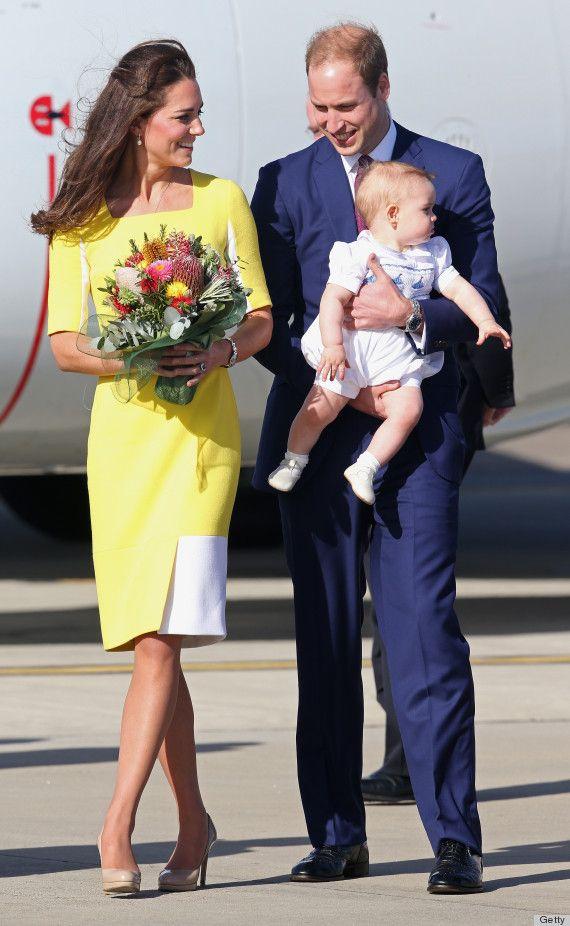 The Royal Family! The Duchess in Roksanda Ilincic and LK Bennett heels