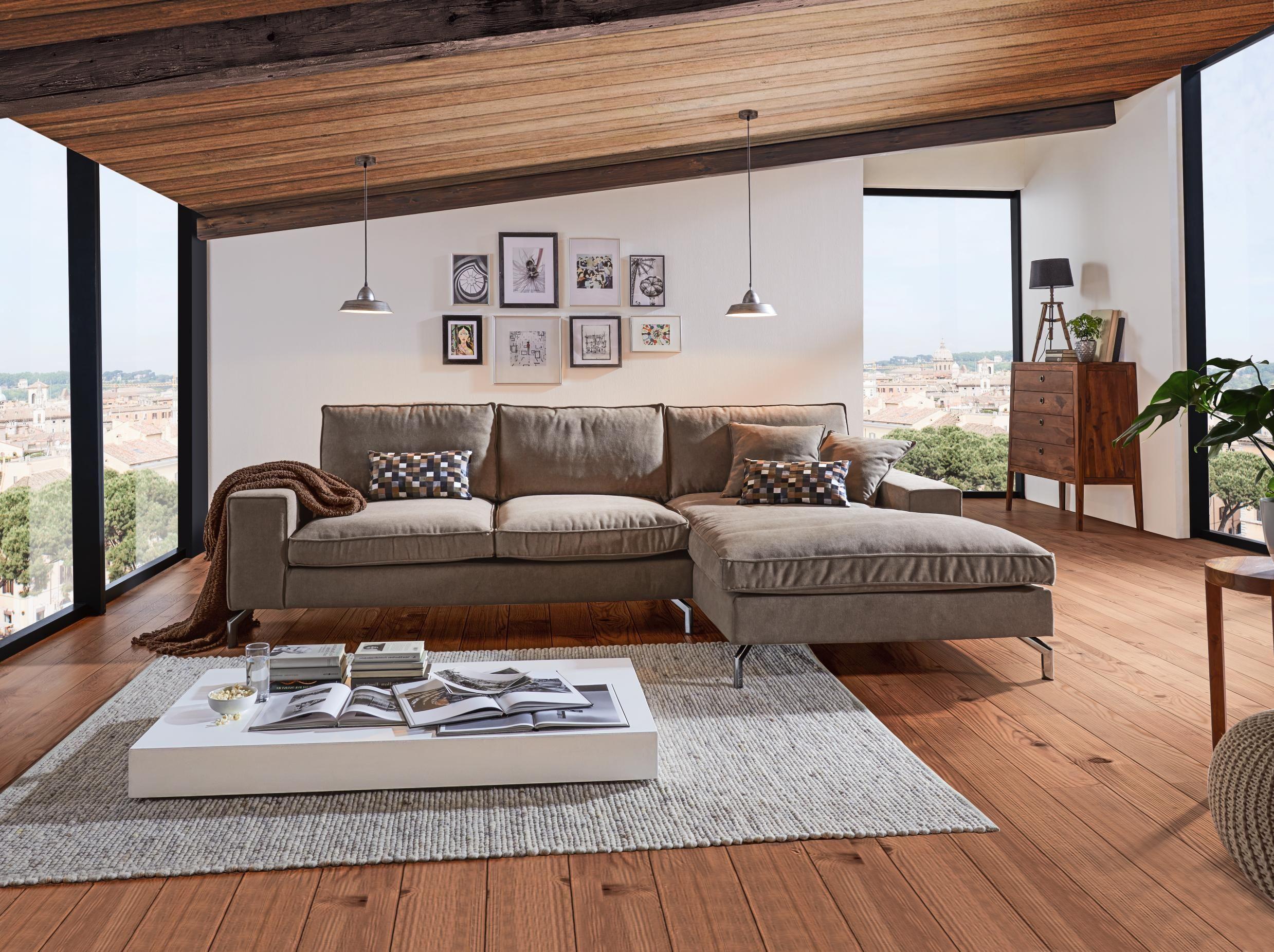 Wunderbar Hellgraues Sofa Das Beste Von Wohnlandschaft Von Hom