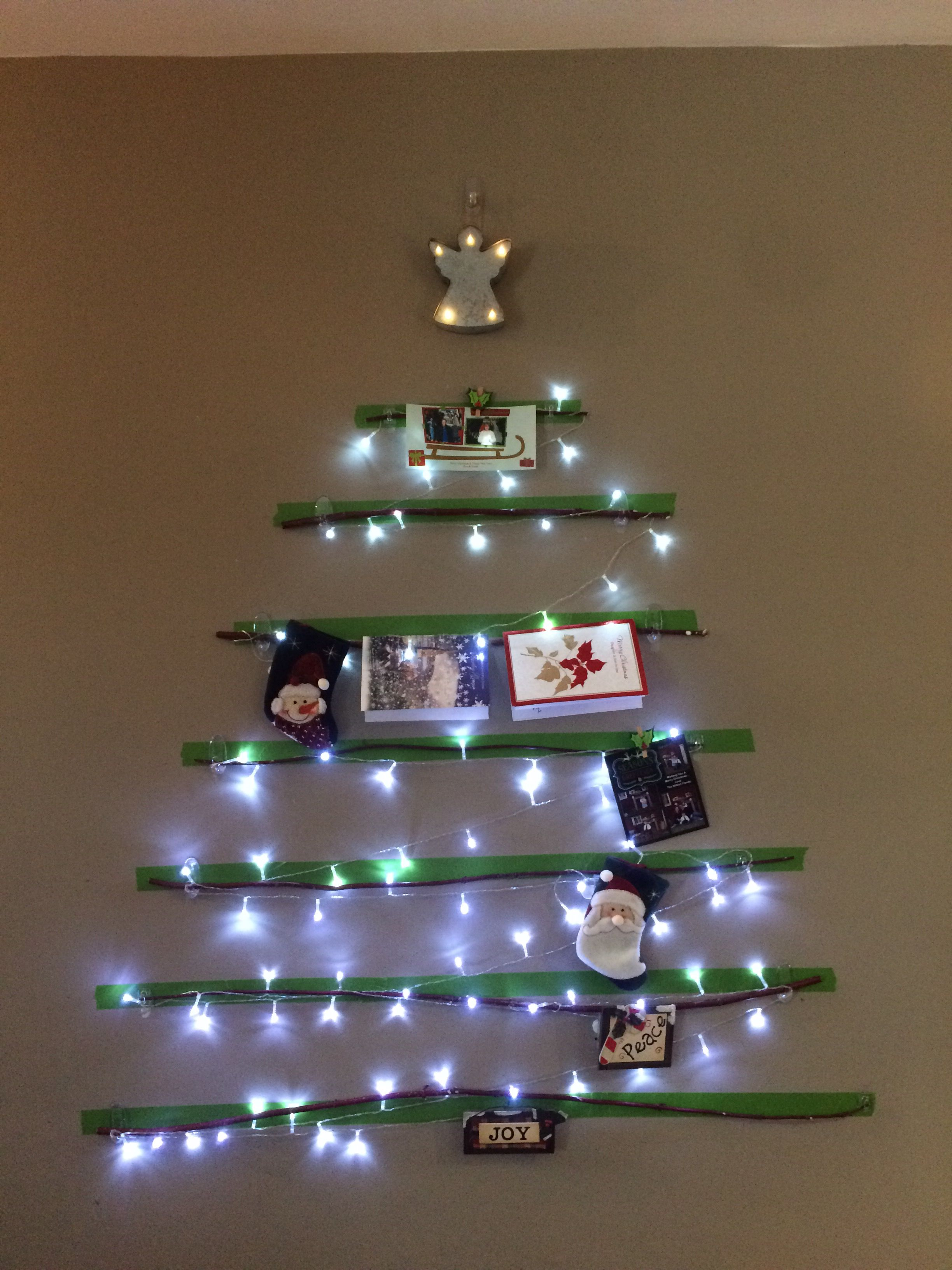 Christmas card tree ...