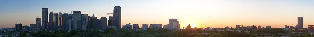 I love Dallas' skyline!