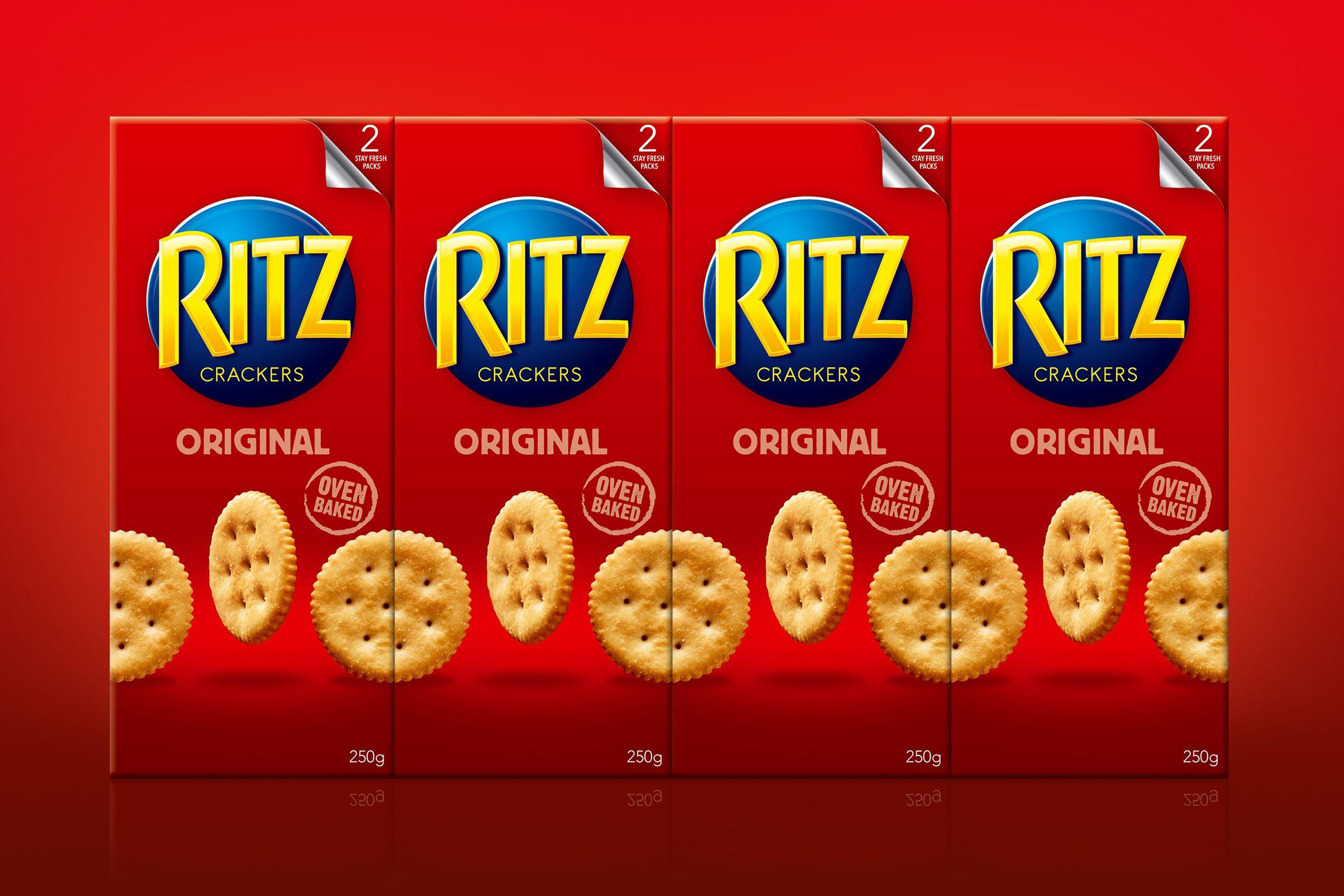 Ritz Australia Packaging Snack Ritz Crackers Clever Packaging