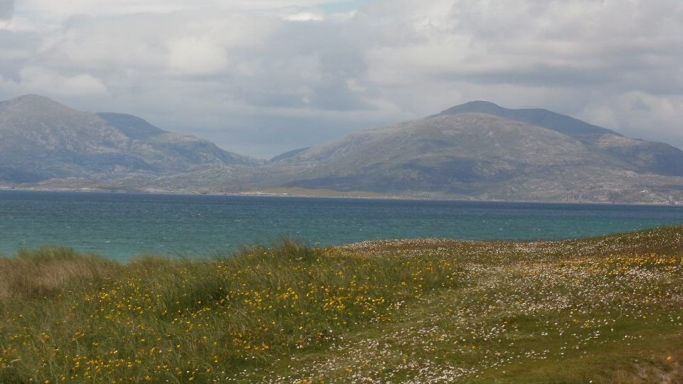 Wild camping on Harris... what a view... can we go now ...