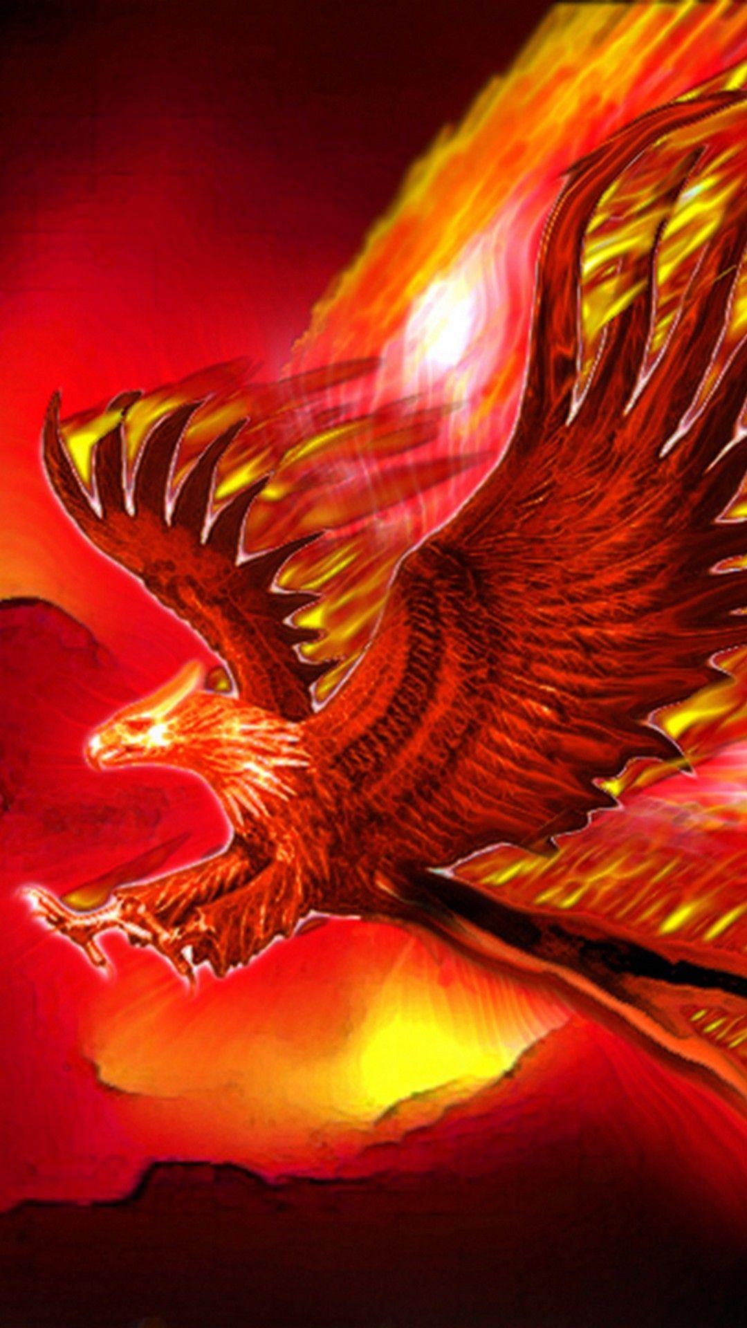 Mobile Wallpapers Phoenix Bird Images Iphonewallpapers