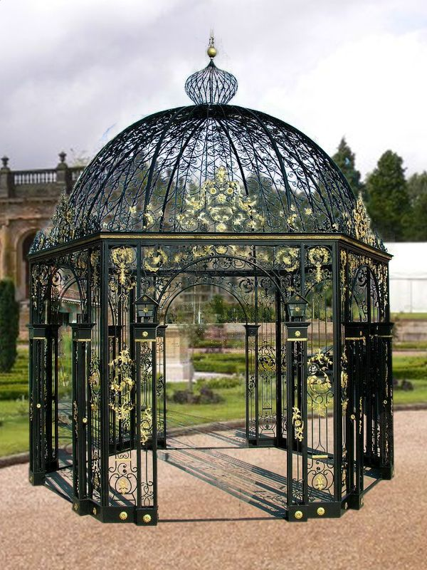 Wrought Iron Gazebo Pavilionpergola Cast Wrought Iron Gazebo Pavilionpergola Gazebo