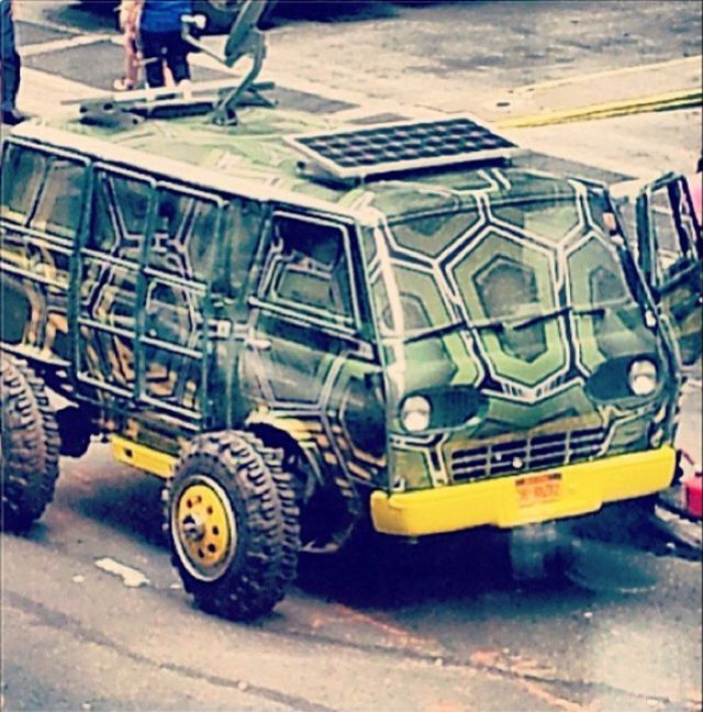 Another look at an Awesome 60s Econoline as the New van for the Teenage Mutant Ninja Turtles.