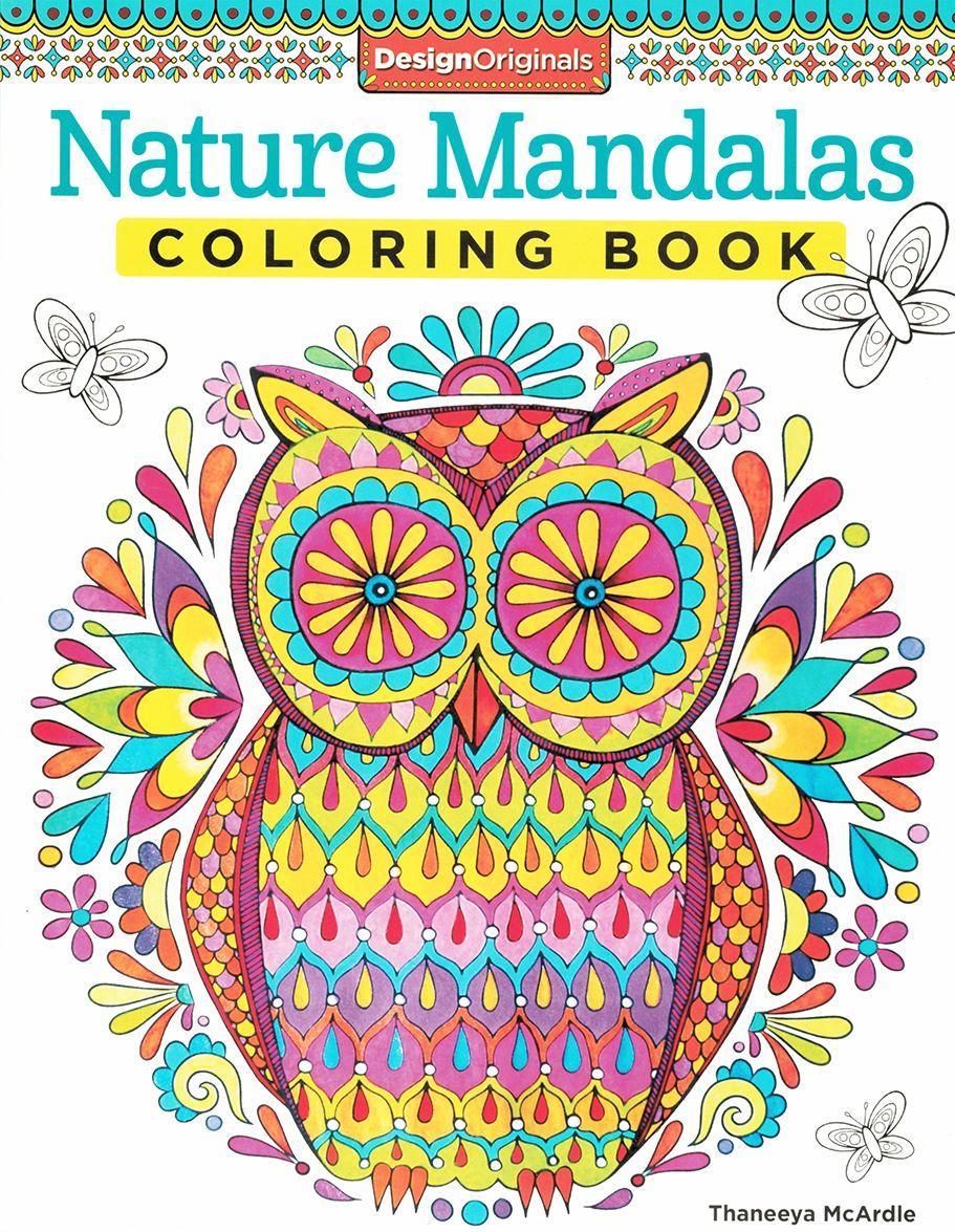 Arte-terapia: Nature mandalas coloring book | Colores | Pinterest ...