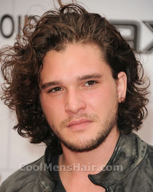 Photo Of Kit Harington Hairstyle Mens Hair Pinterest Kit