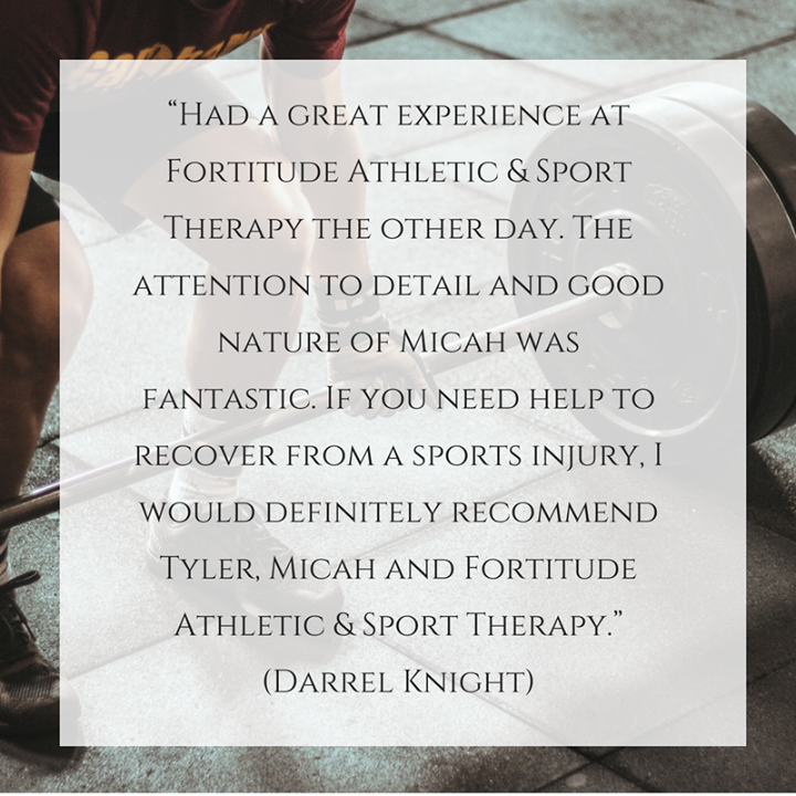 Here's a testimonial from one of our patients! Give us a
