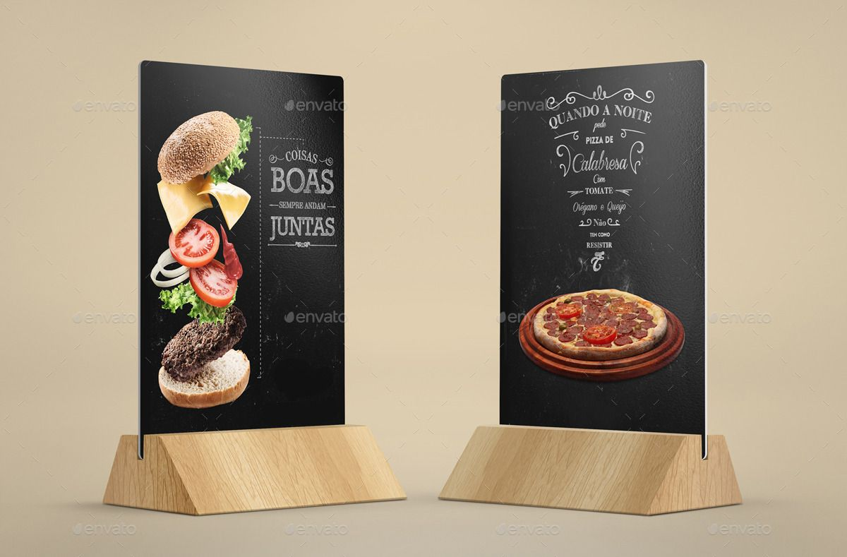 table tents mockup v 2 restaurant pinterest table tents table