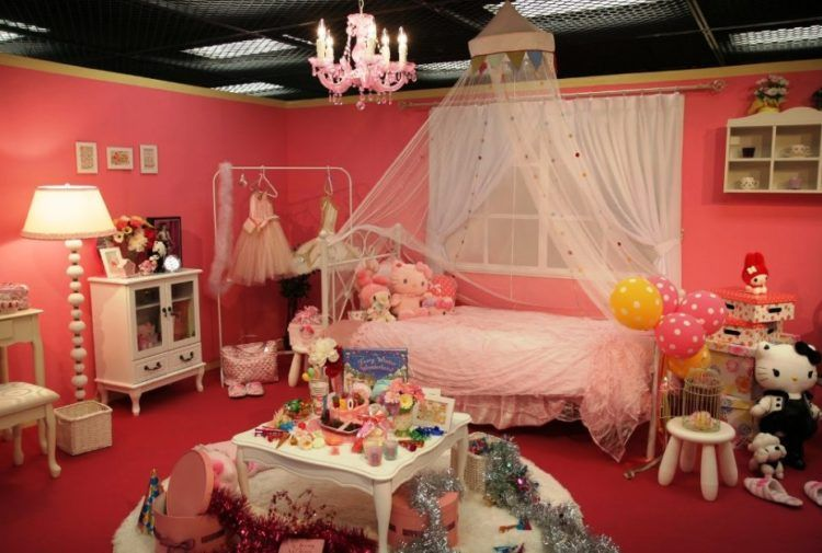 Bedroom Designs Hello Kitty for girls only] lovely hello kitty bedroom decoration ideas