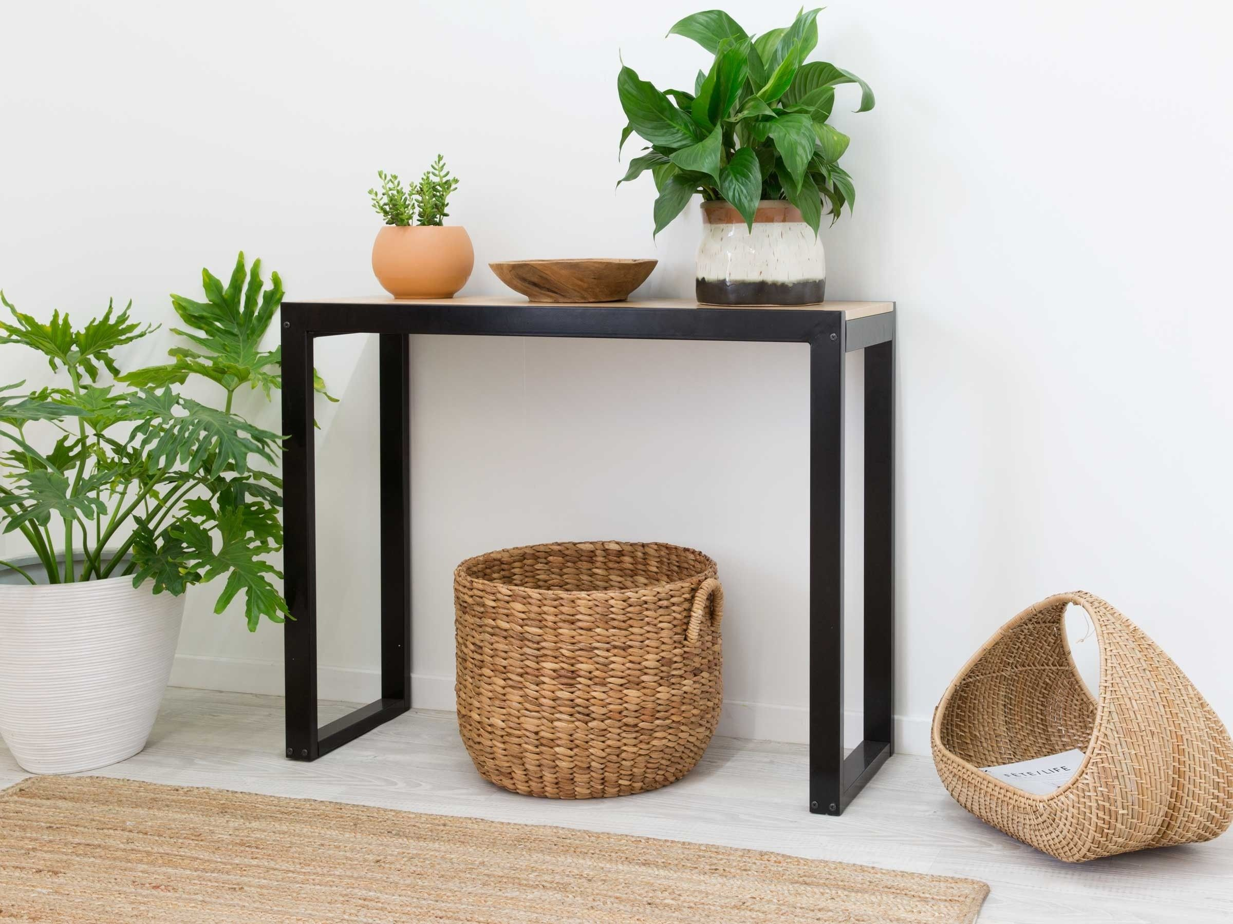 Pin By Nelia On Our Living Room Console Table Narrow Console Table Table