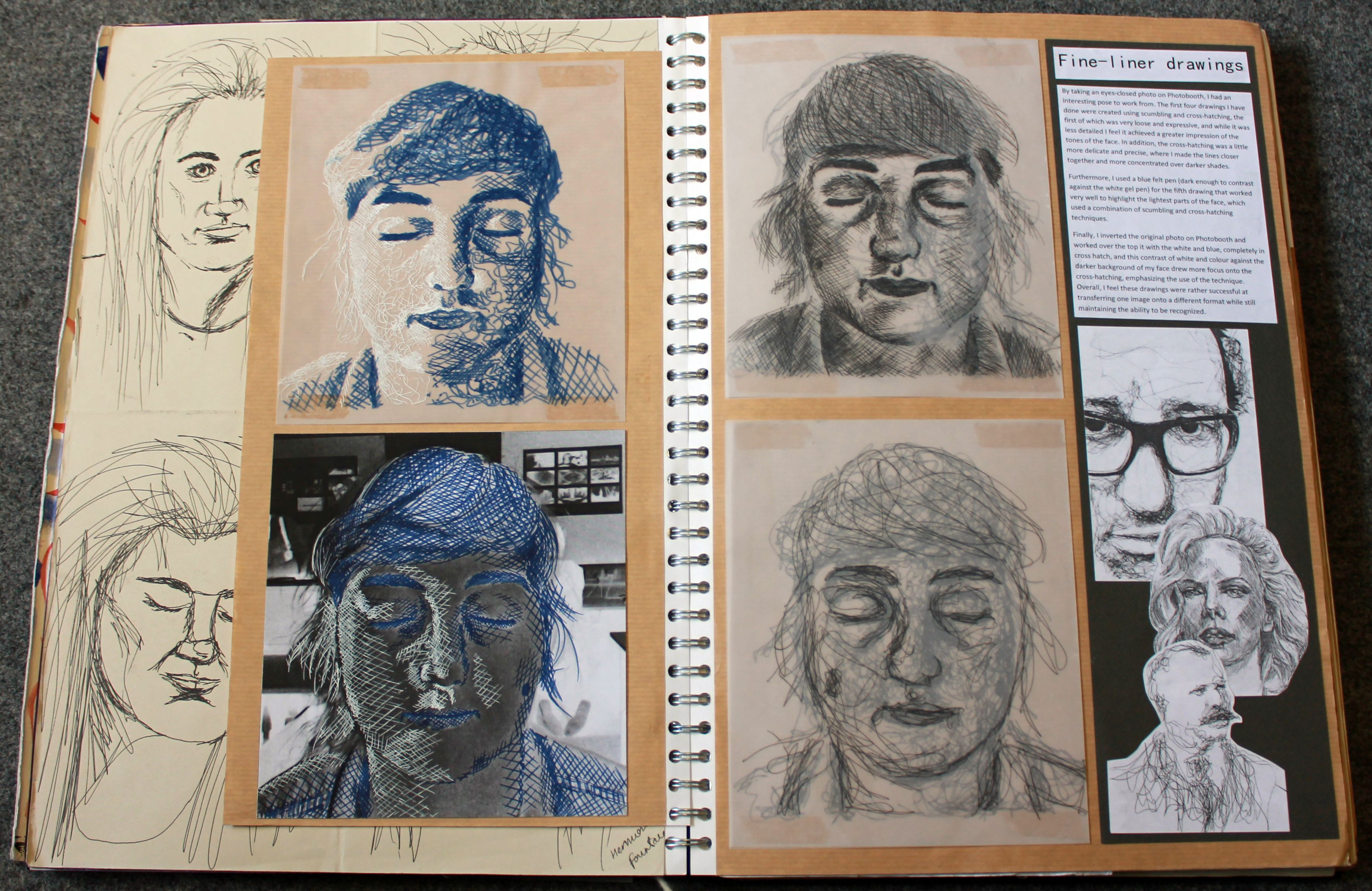 Amazing Gcse Art Sketchbooks