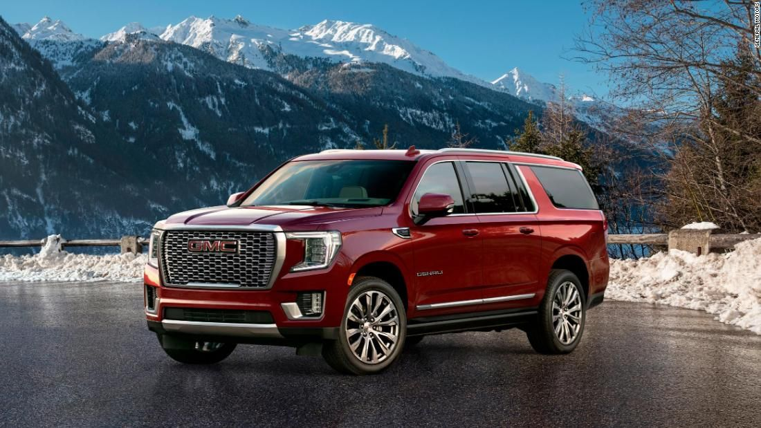 Gm Unveils Its Latest Weapon In The Suv Wars The New Gmc Yukon In 2020 Gmc Yukon Gmc Yukon Xl Suv