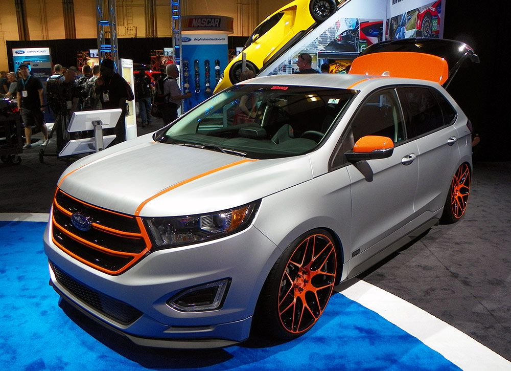 Aaron Vaccar Styled 2015 Ford Edge Sport Made Its Debut In Ford S