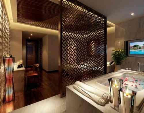 Salle de bain dans chambre une tendance élégante et pratique