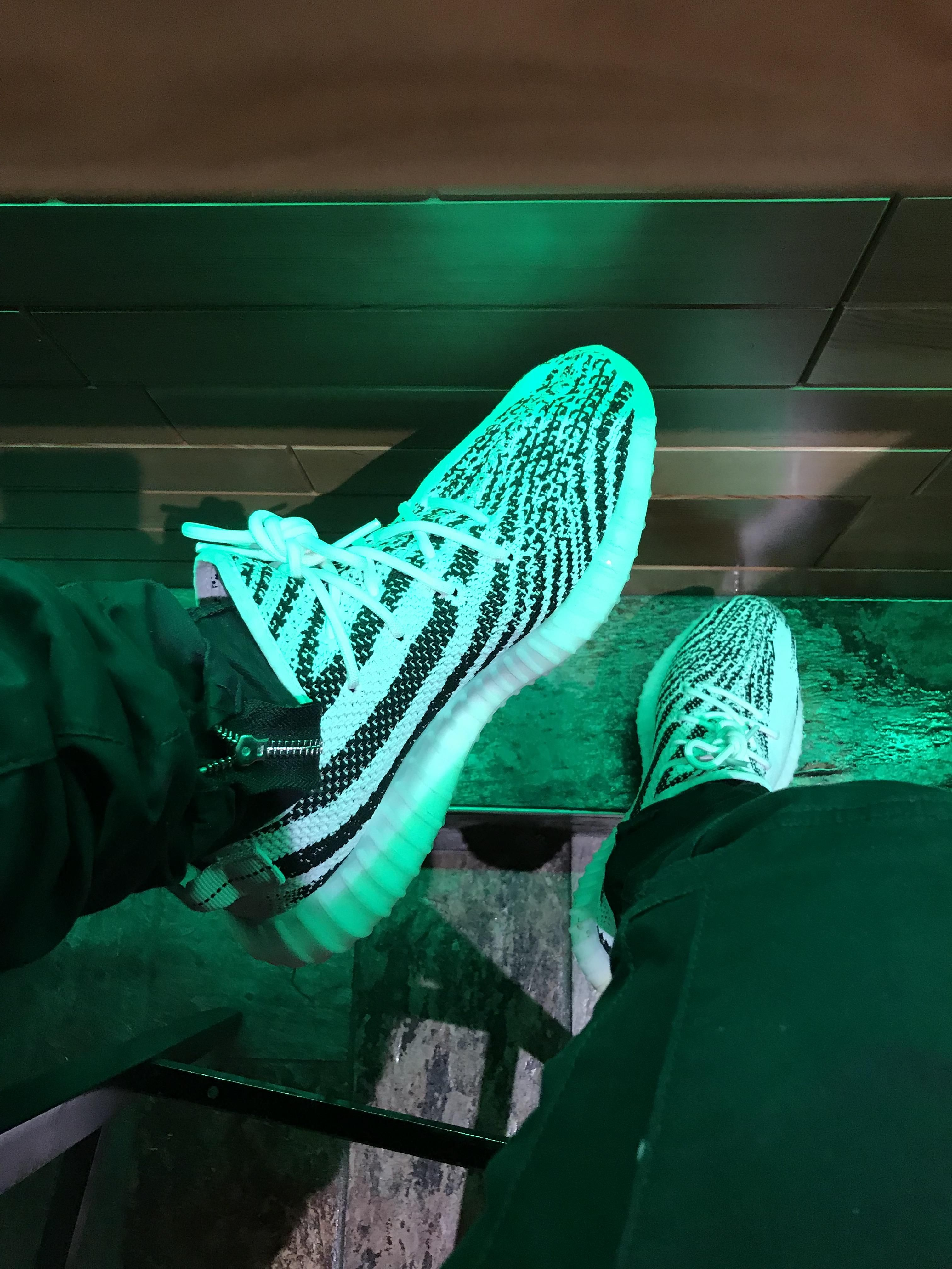 sports shoes d58c7 579cd Do these look like the McDonalds Yeezy Wrapper V3