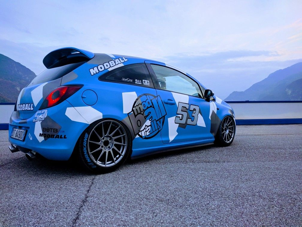 Opel Corsa D Stance By Md Line