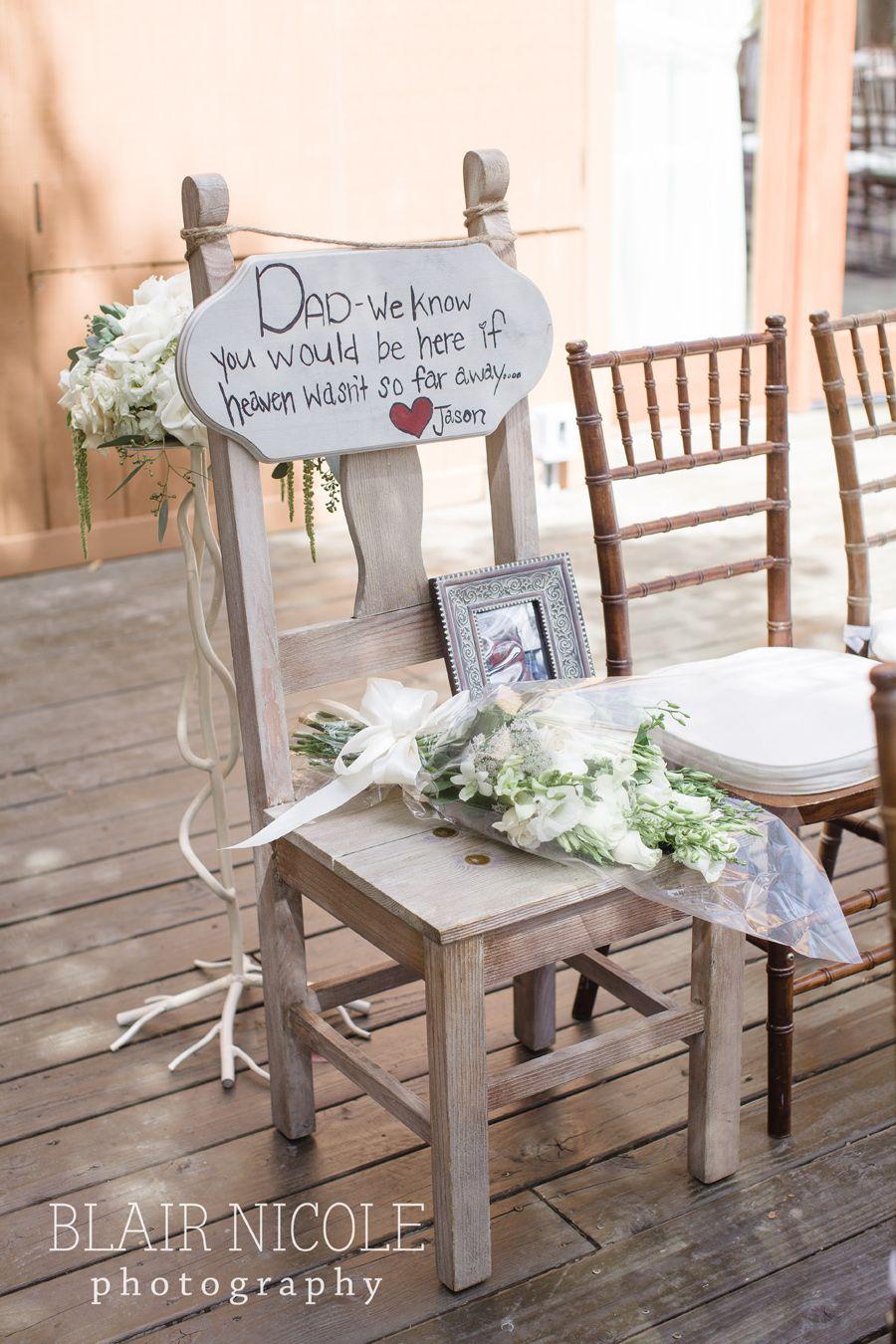 11++ Wedding memorial chair signs ideas in 2021