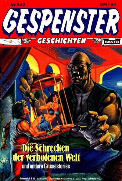 Cover for Gespenster Geschichten (Bastei Verlag, 1974 series) #542