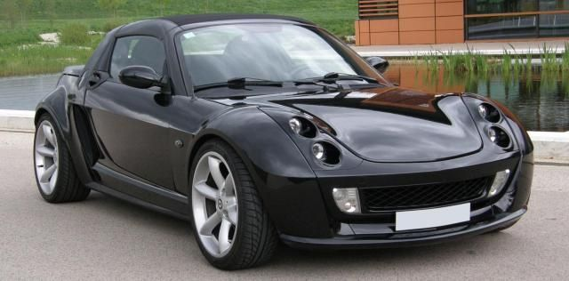 smart roadster black beauty same as mine car design pinterest voitures. Black Bedroom Furniture Sets. Home Design Ideas