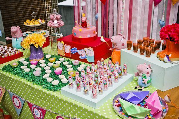 Festa Peppa Pig - Gigi - fotos e decoração por éricavighi - http://ericavighifoto.blogspot.com.br/ Peppa Pig´s Party