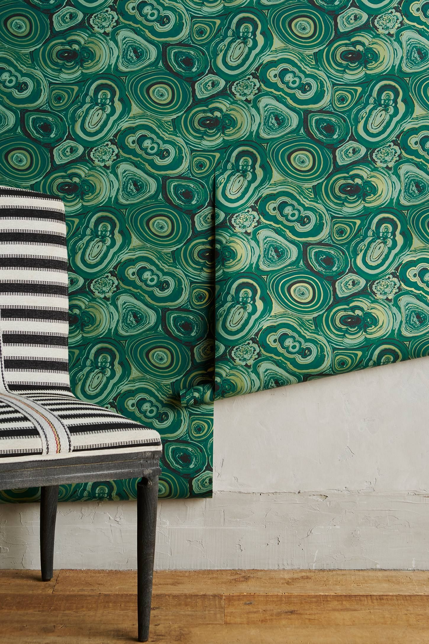 malachite wallpaper en 2018 green vert pinterest decoration deco et tableau. Black Bedroom Furniture Sets. Home Design Ideas