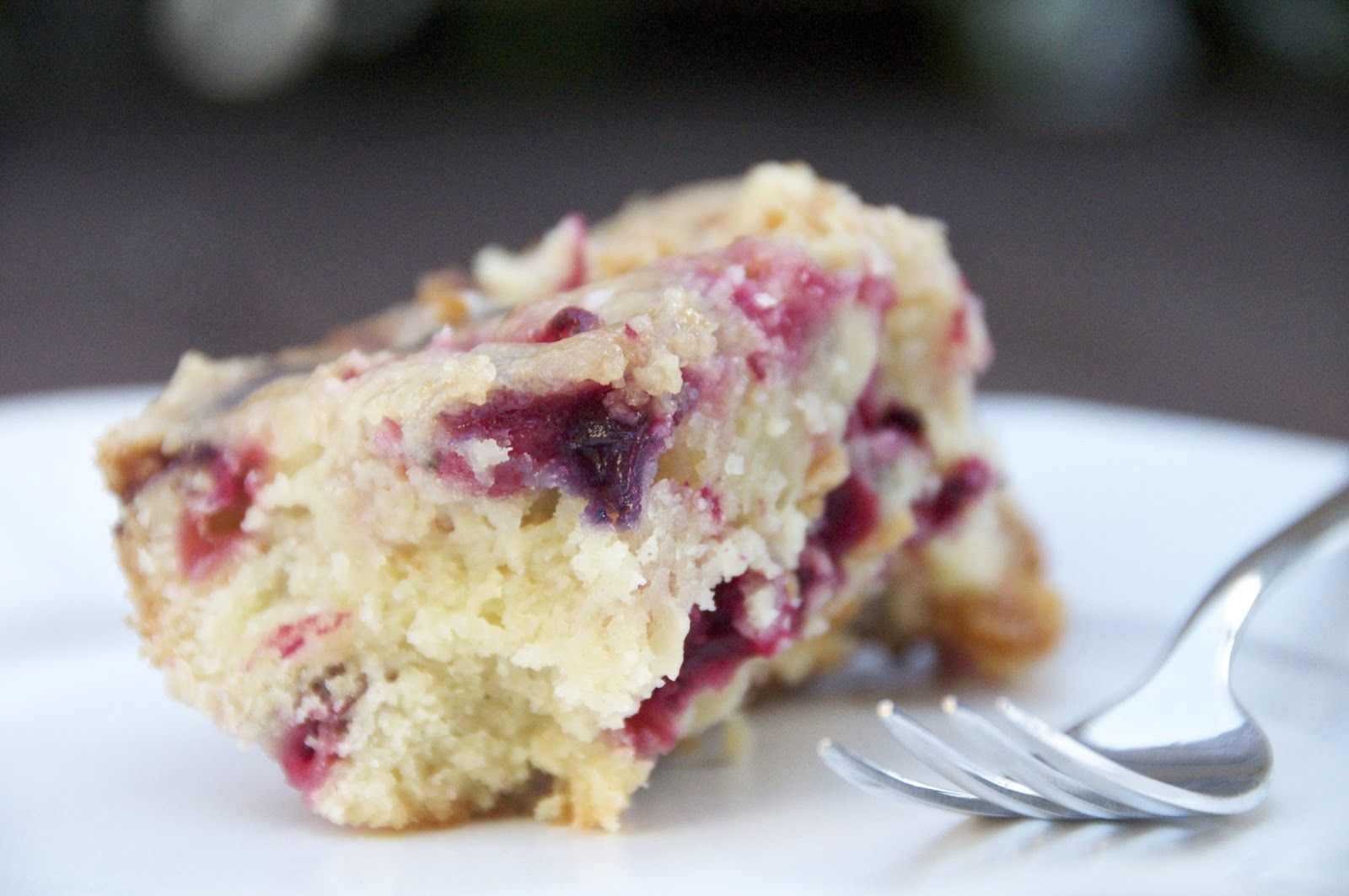 see you in the morning: cranberry awesome cake