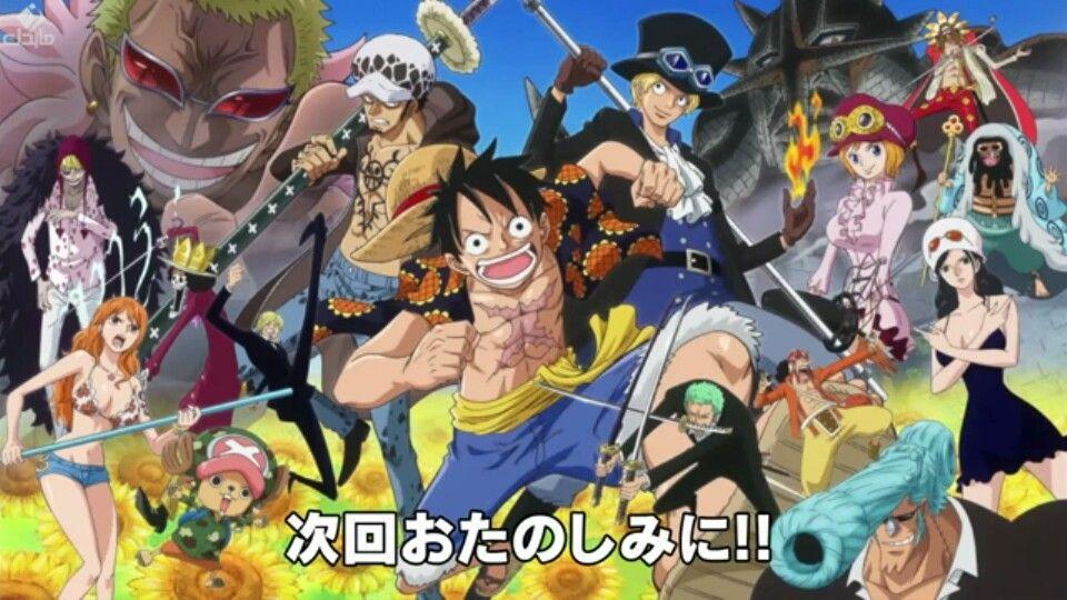 Dressrosa Anime, Cartoon, One piece