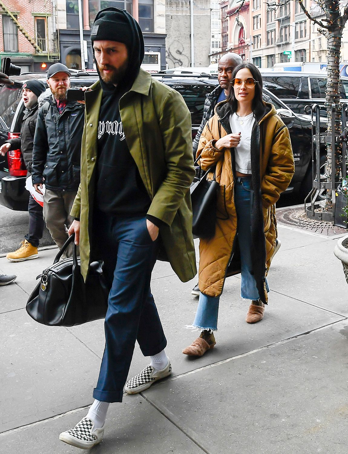 Kacey Musgraves And Husband Ruston Kelly Make Rare Public Appearance Together During Nyfw In 2020 Ruston Kelly Kacey Musgraves Ruston