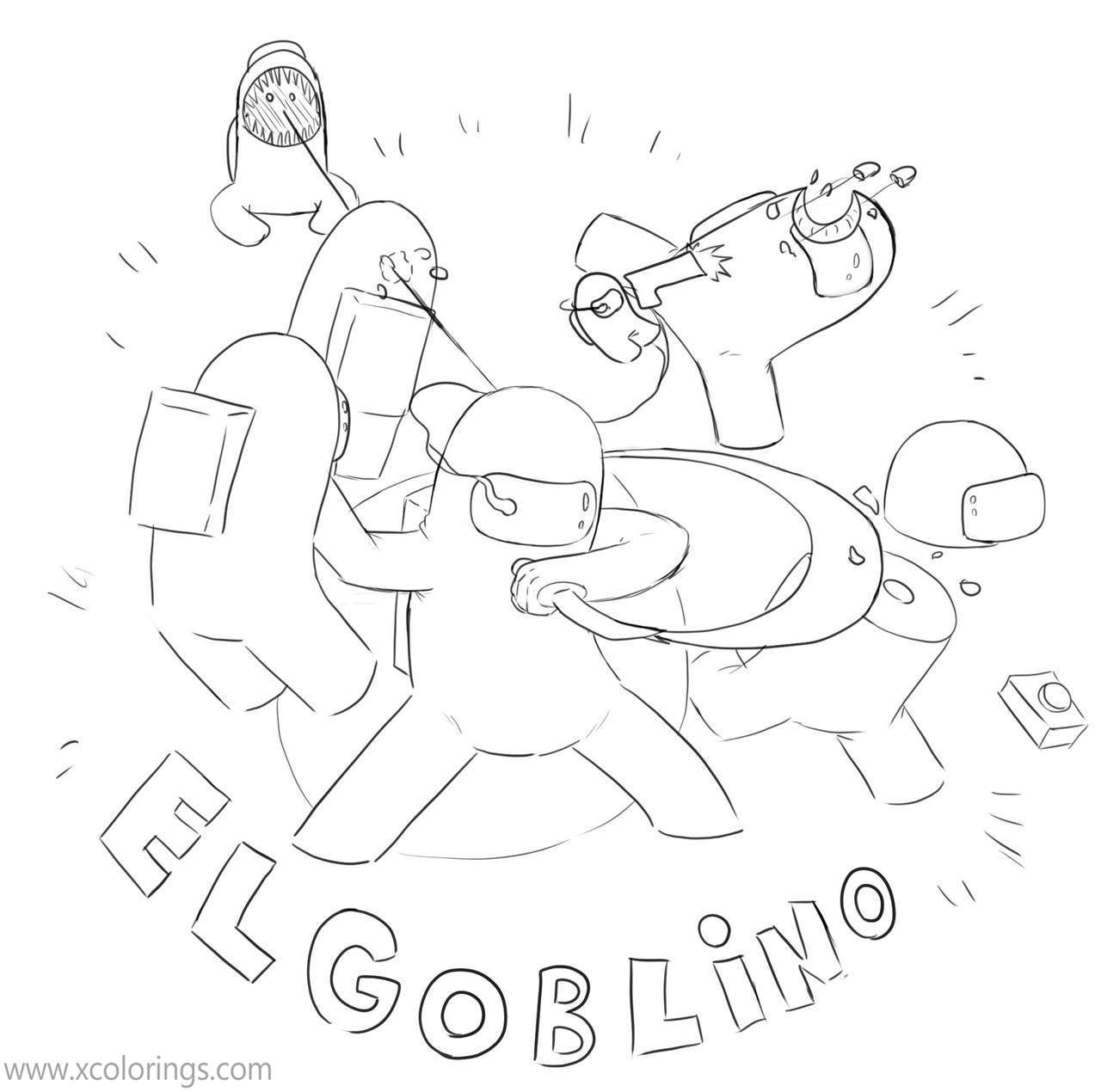 Among Us Coloring Pages Spaceship Astronauts Xcolorings Com Coloring Pages Fan Art Color