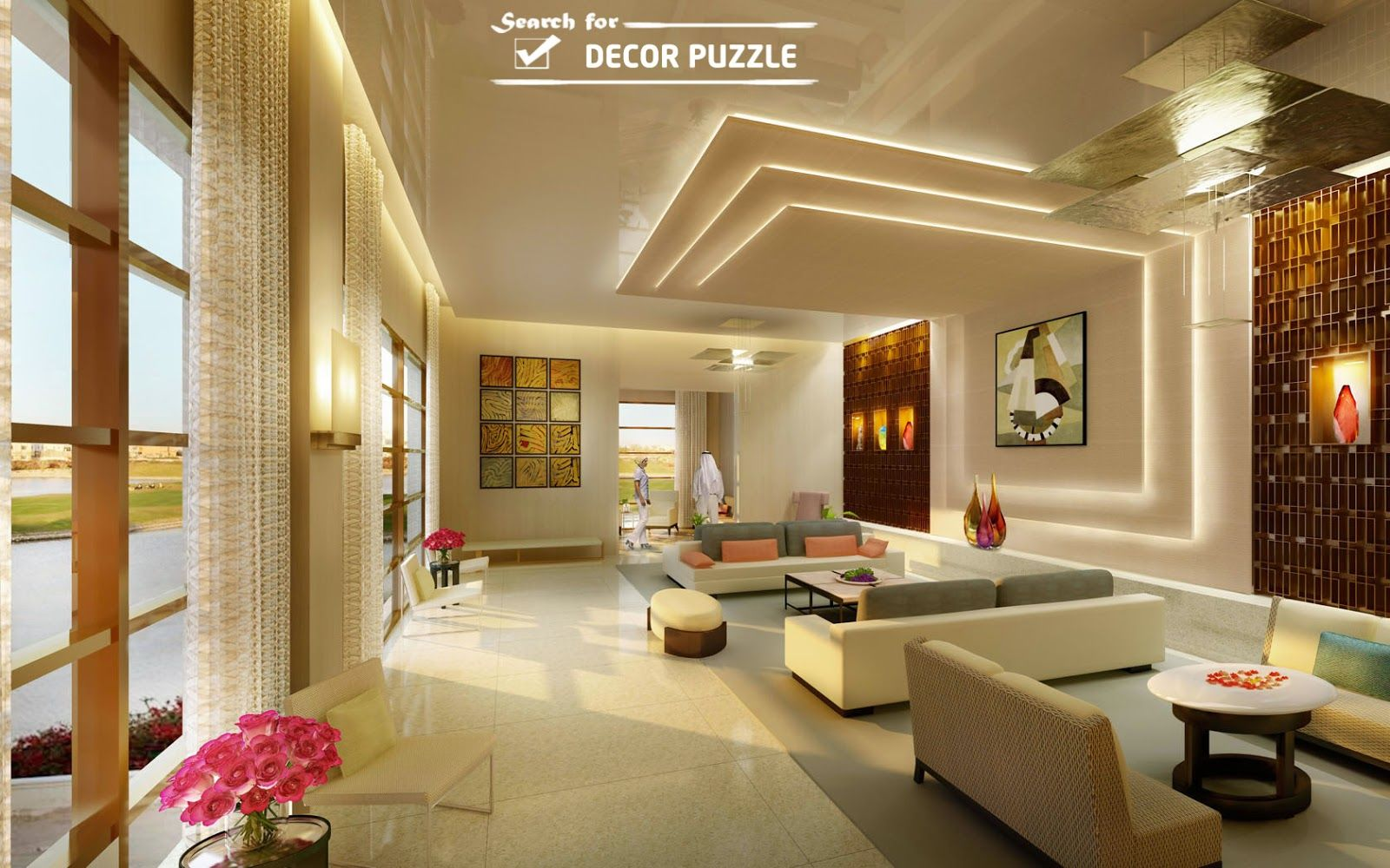 Best Interior Design For Villa False Ceiling Design Pop F