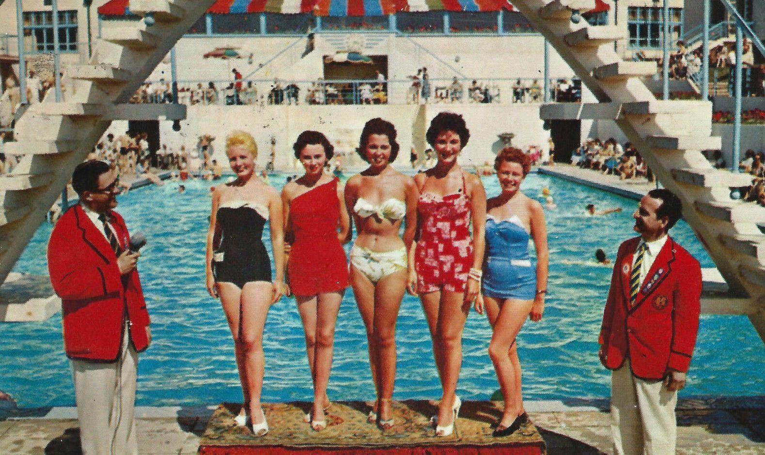 The Pool At Butlins Ocean Hotel In Saltdean Brighton East Sus England