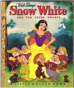 Little Golden Books - Snow White | Books for my Inner Child | Little
