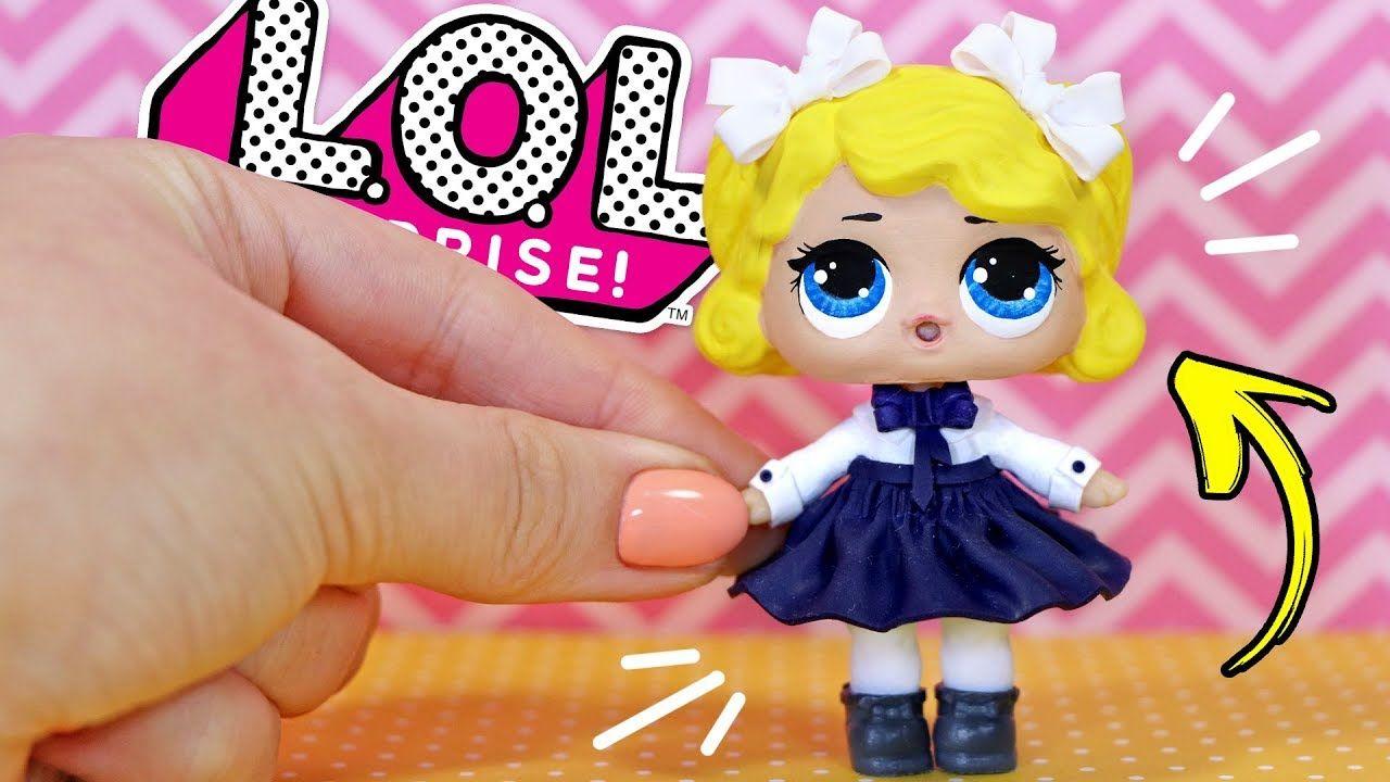 ШКОЛЬНИЦА ЛОЛ 🎒 Школьная форма для кукол своими руками ...
