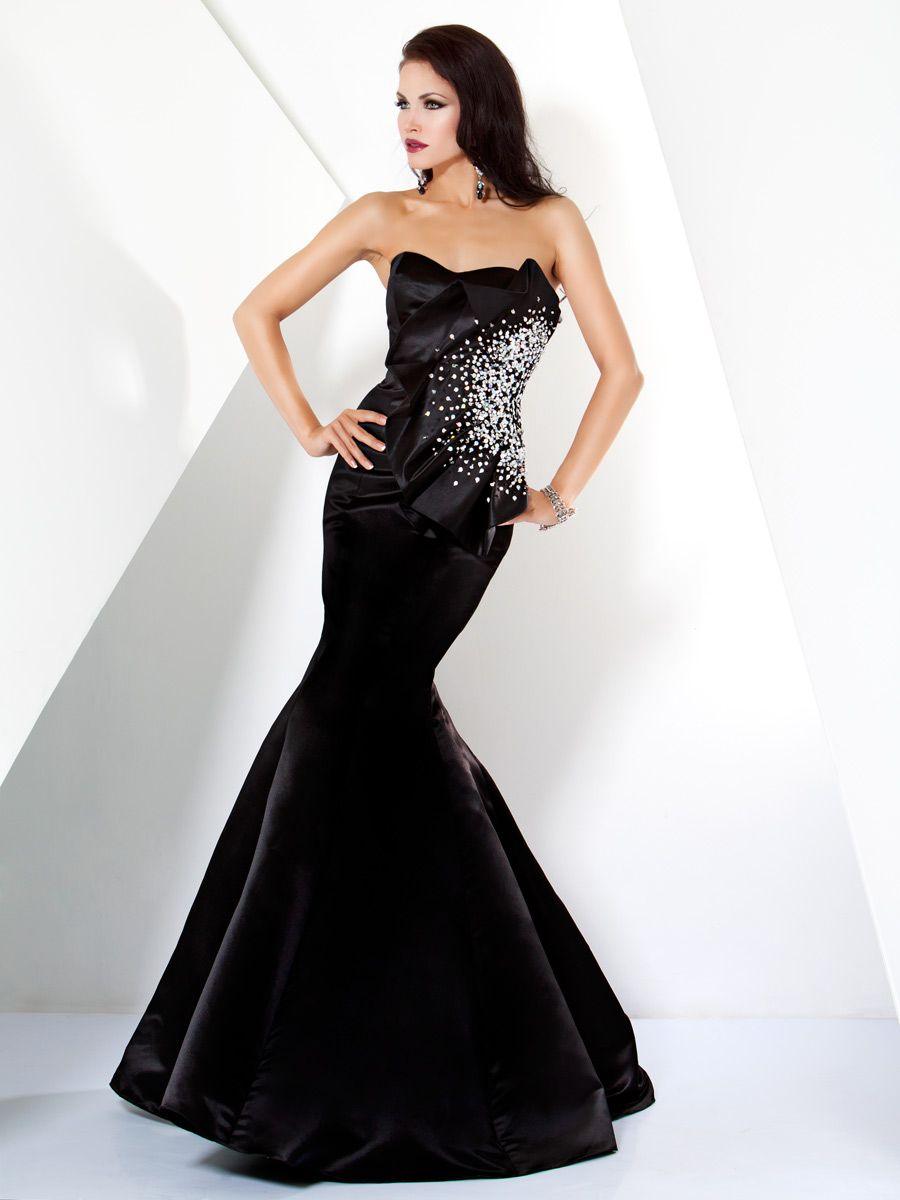 Satin evening gown dresses pinterest gowns satin and