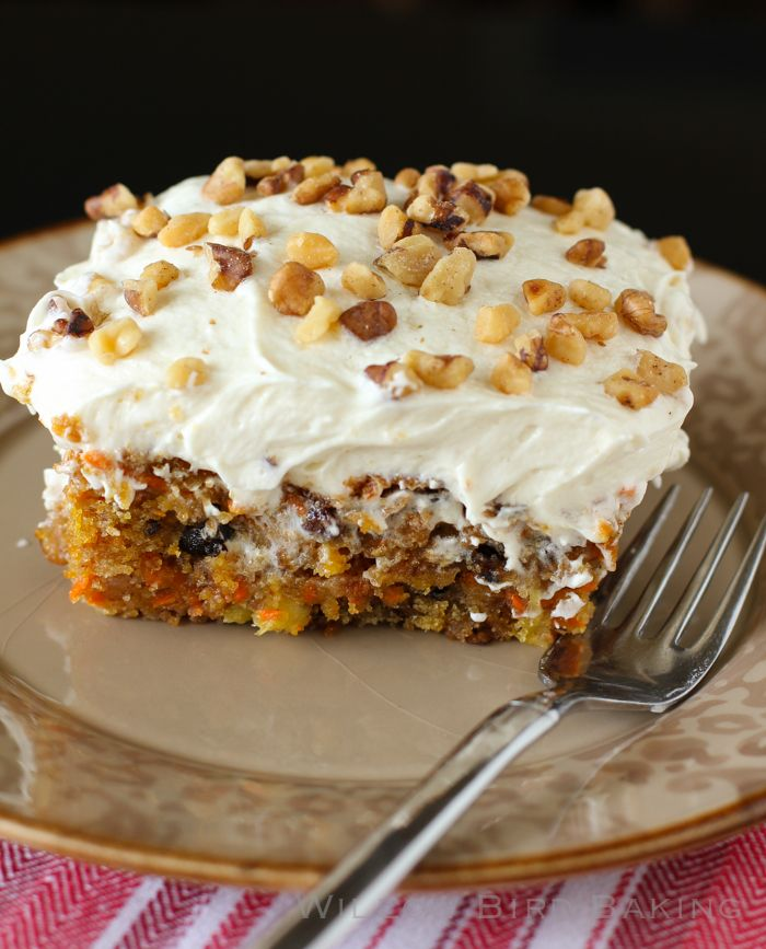 Carrot Cake Frosting Ideas