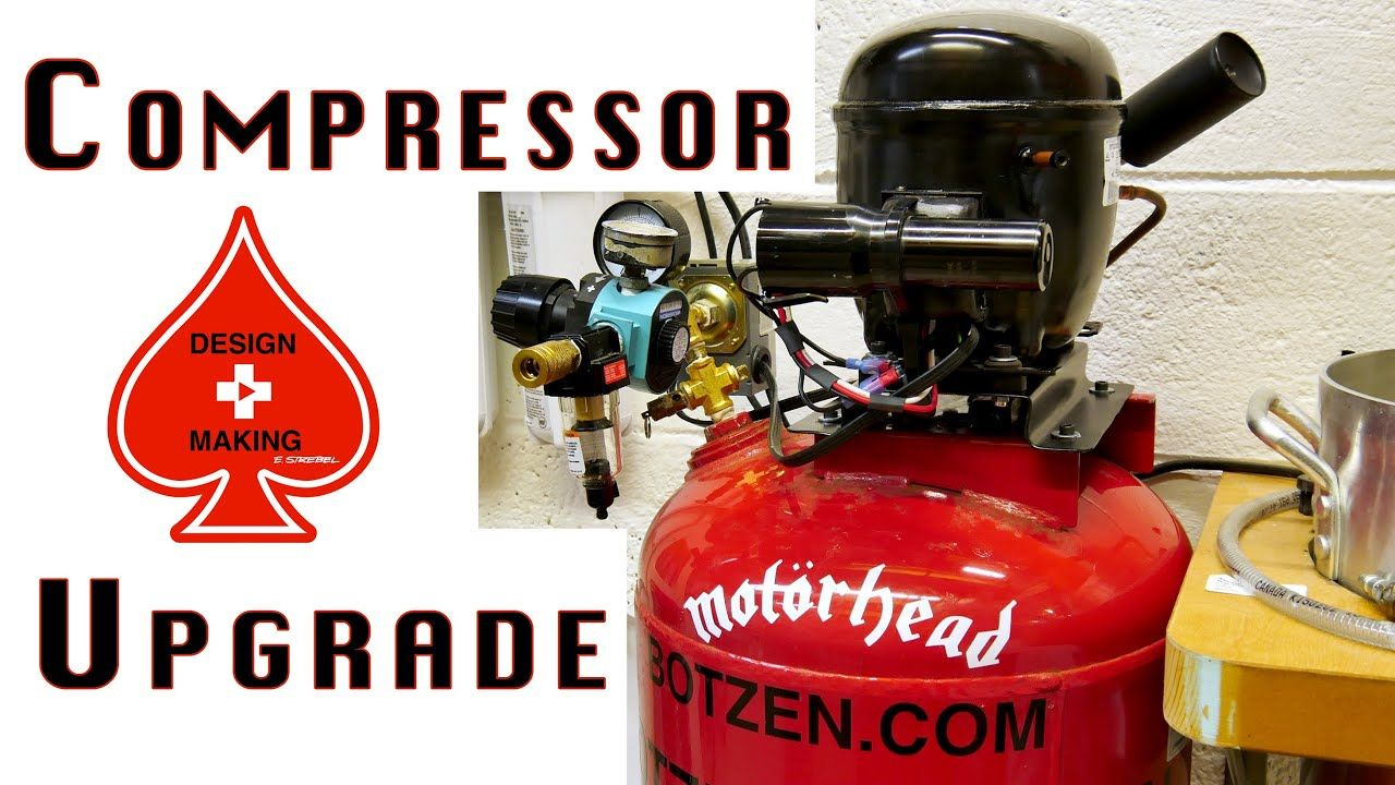 Ultra Quiet Refrigerator Air Compressor Upgrade Build