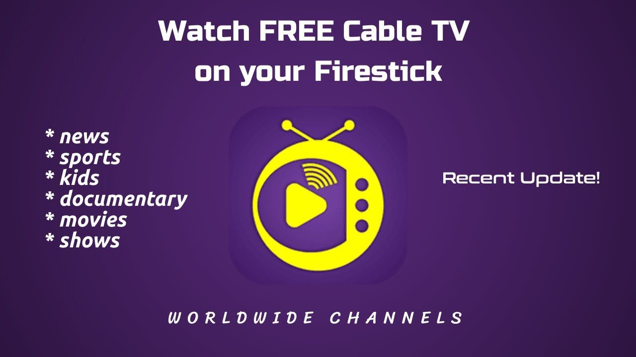 Free cable tv on your firestick this app is a solid