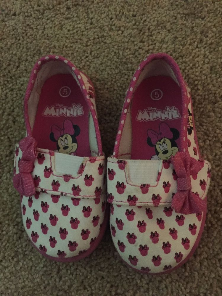 disney minnie mouse toddler girl shoe
