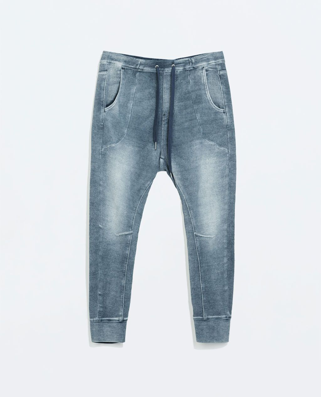 a6bdff2e2d Zara - Terrycloth Jogging Pants | Men's Fashion | Pants, Jogging, Denim