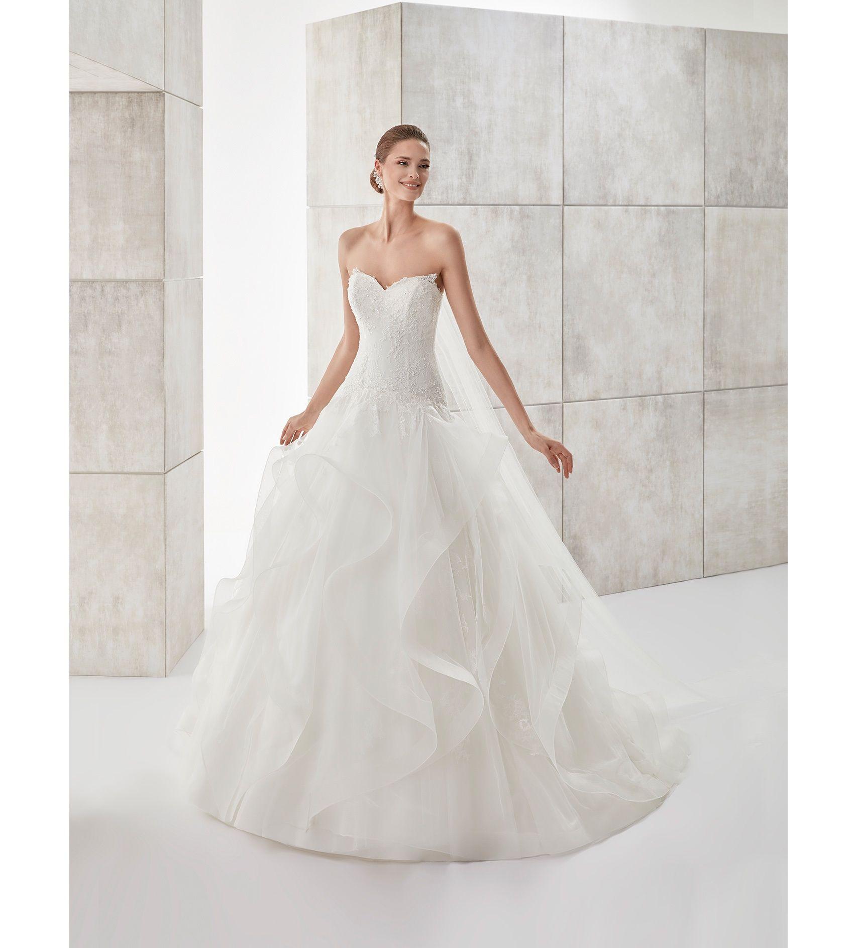 Moda sposa collezione aurora auab abito da sposa