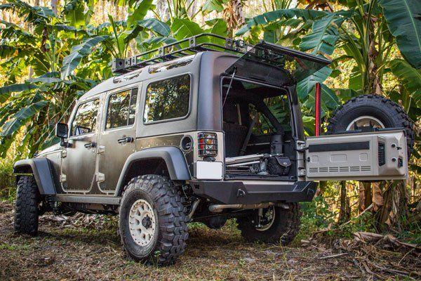 Jku50 Overland Rubicon Jeep Wrangler Jk Sema Build 4 Wheel Online