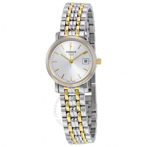 Tissot T-Classic Desire Two-tone Ladies Watch T52228131 - Desire - T-Classic  - Tissot - Watches - Jomashop e086206f130