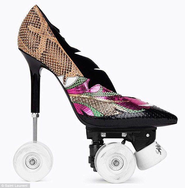 Yves Saint Laurent releases $2,600 roller skates STILETTOS