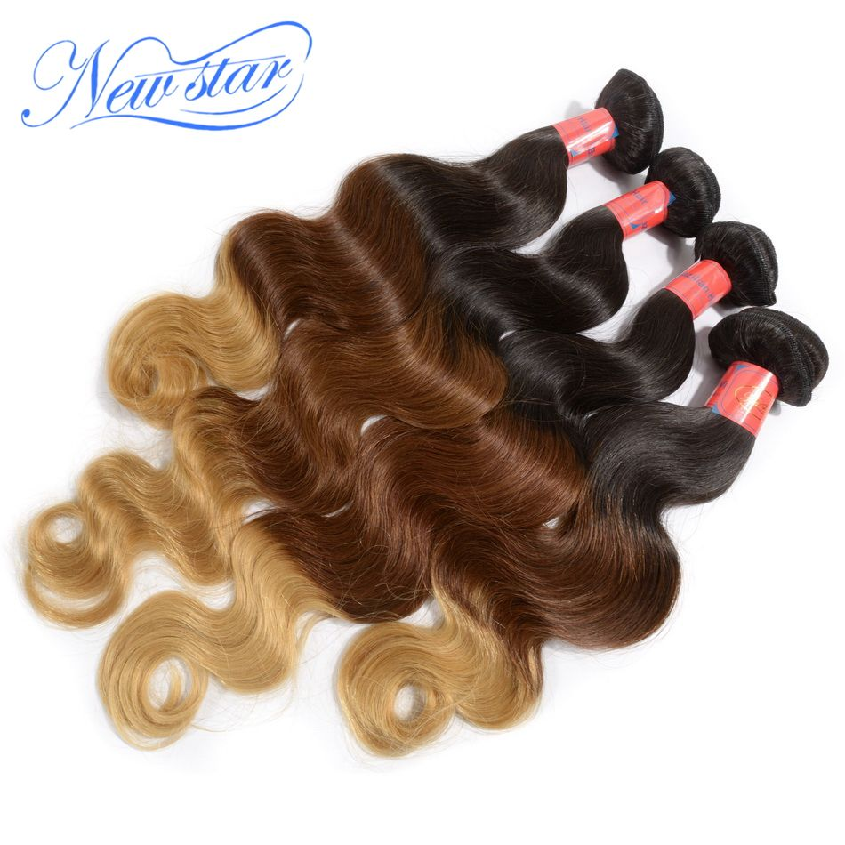 Reliable Brand New Star Remy Human Hair Cheap Ombre Hair Extension
