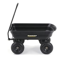 Best Yardworks® 600 Lb Poly Dump Cart Dump Cart Landscaping 400 x 300