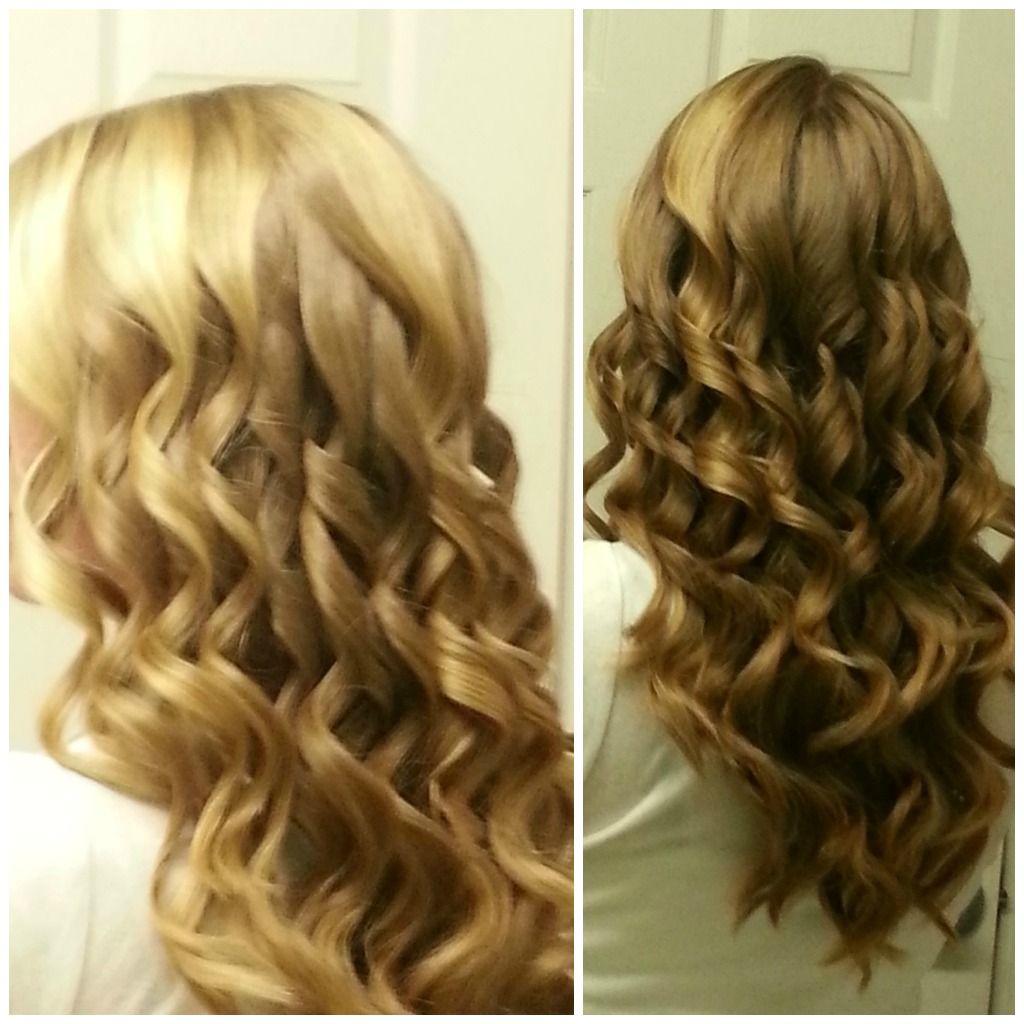 25+ Unique Spiral Curls Ideas On Pinterest