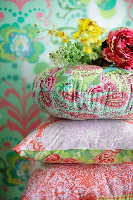 Amy Butler Pillows Throws Pinterest Kissen Wohnaccessoires